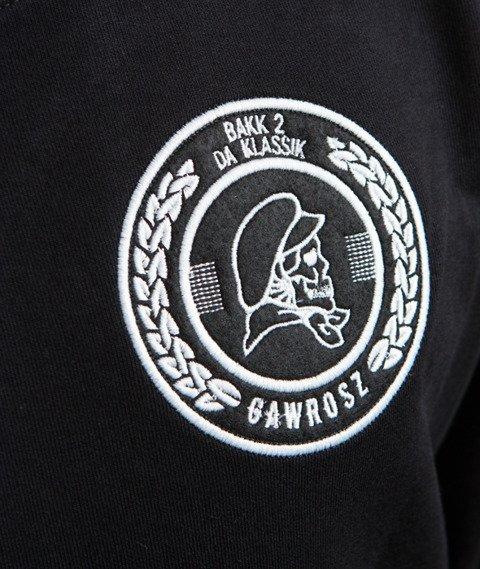 Gawrosz-Skull Bluza Czarna