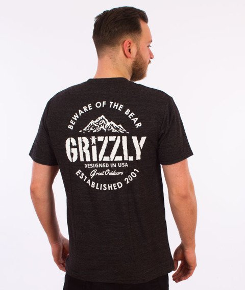 Grizzly-All Terrain T-Shirt Black Triblend