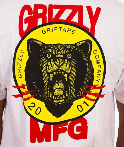 Grizzly-Firecracker T-Shirt White