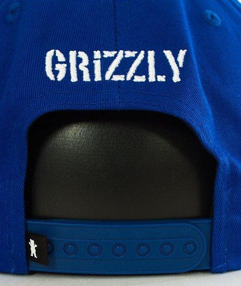 Grizzly-OG Bear Snapback Blue