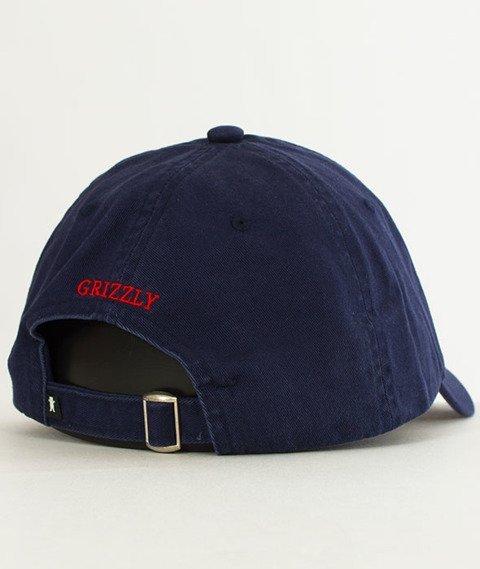 Grizzly-OG Dad Hat Snapback Navy