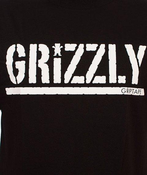 Grizzly-OG Stamp Logo Basic T-Shirt Black