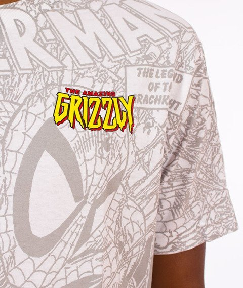 Grizzly-Spiderman T-Shirt White
