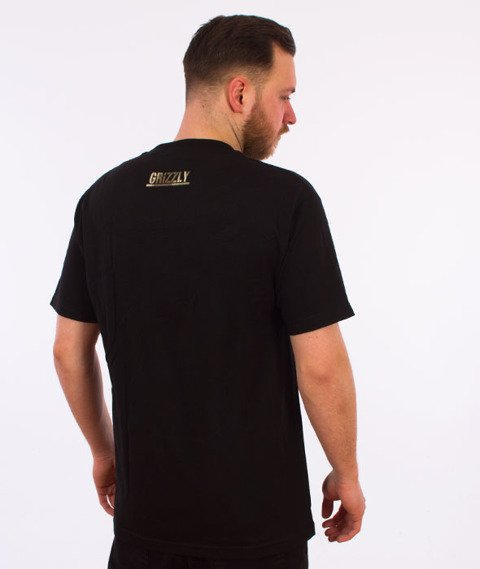 Grizzly-Sycamore Box Logo T-Shirt Black