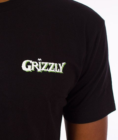 Grizzly-Venom Pen & Ink T-Shirt Black