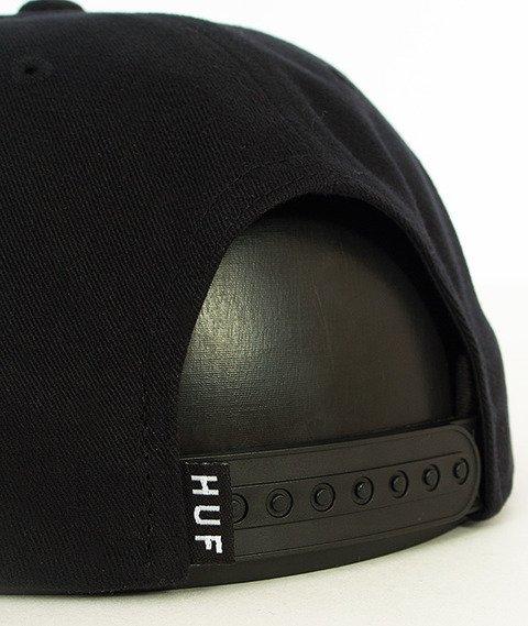 HUF-Triple Triangle Sp16 Snapback Czarny