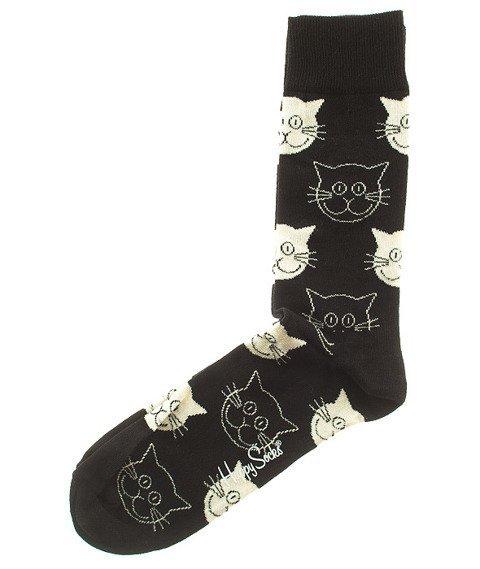 Happy Socks-Cat Skarpety [MJ01-9000]