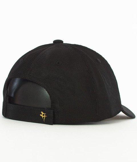 Hipotonia-HTA Brand Snapback Czarny/Złoty