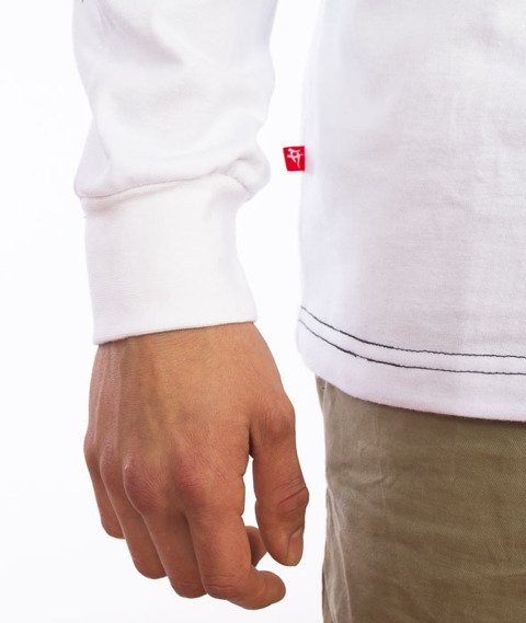 Hipotonia-Laur Box Longsleeve Biały
