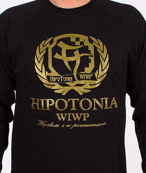 Hipotonia-Laur Longsleeve Czarny/Złoty