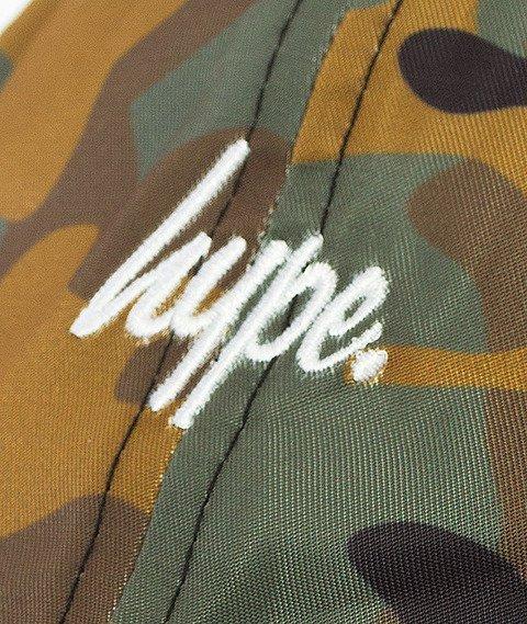 Hype- Hype Script Dad Cap Czapka Z Daszkiem Camo