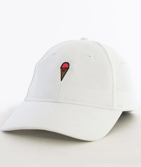 Hype-Ice Cream Dad Hat Czapka Z Daszkiem White