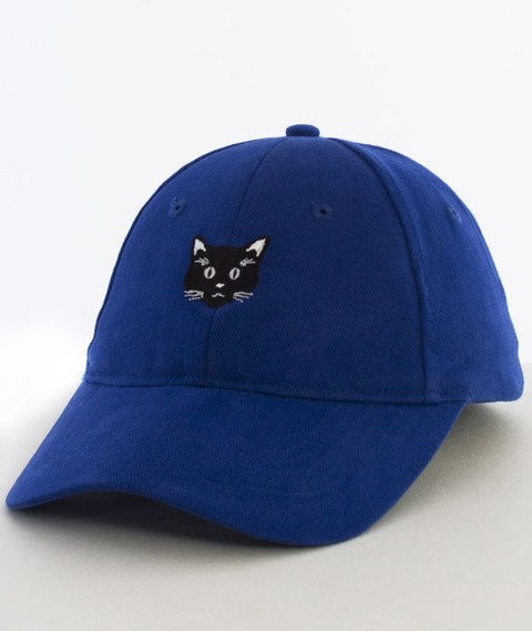 Hype-Meow Dad Hat Czapka Z Daszkiem Blue