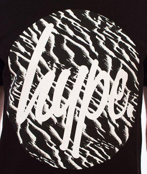 Hype-Sand Strokes T-Shirt Czarny