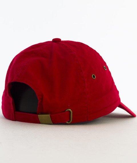 Hype-Strawberry Dad Hat Czapka Z Daszkiem Red