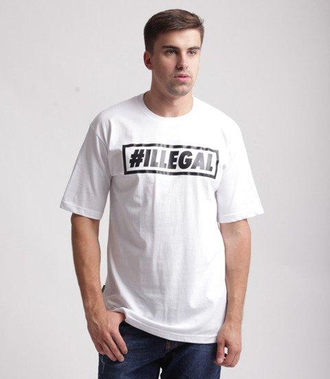 Illegal-Klasyk T-Shirt Biały