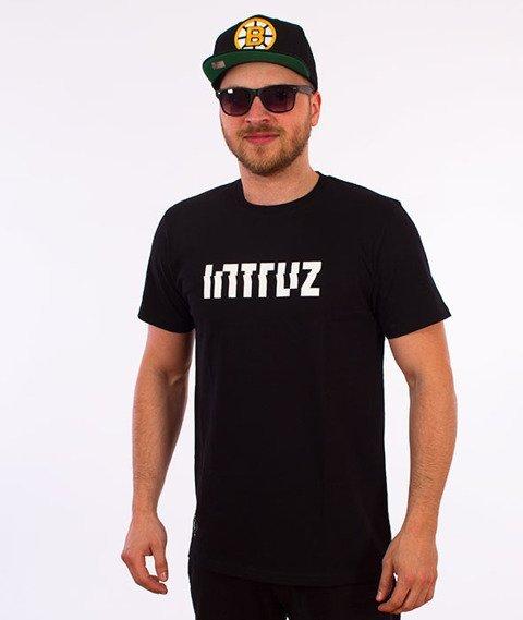 Intruz-Logo T-Shirt Czarny