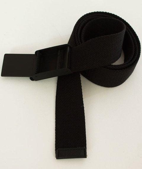 Iriedaily-Flag Rubber Belt Pasek Black