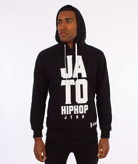 JTHH-Ja To Hip Hop  Bluza Kaptur Czarny