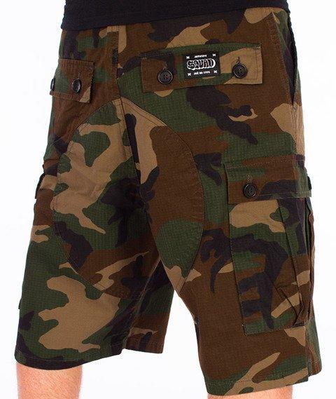 JWP-Cargo Spodnie Krótkie Camo