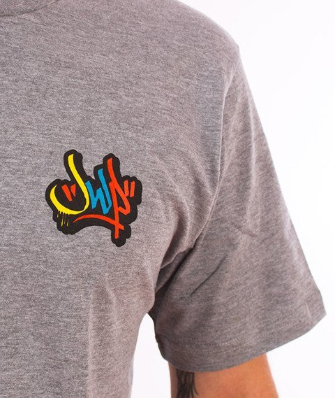 JWP-Cros Colors T-Shirt Grey