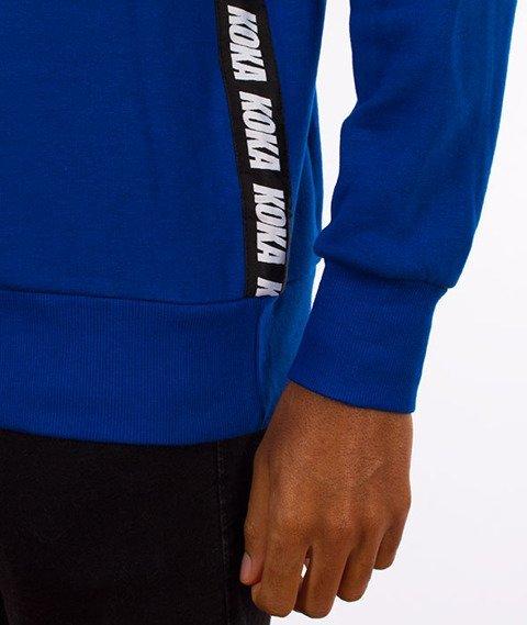 Koka-Fake Tape Bluza Niebieska