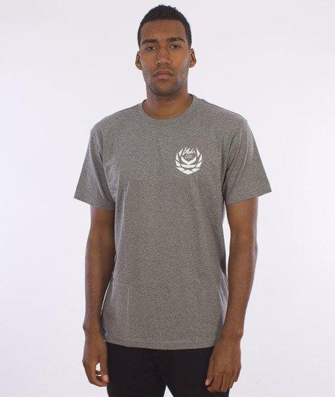 Koka-Front&Back T-Shirt Szary