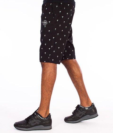 Lucky Dice-Chino Krótkie Spodnie Czarne