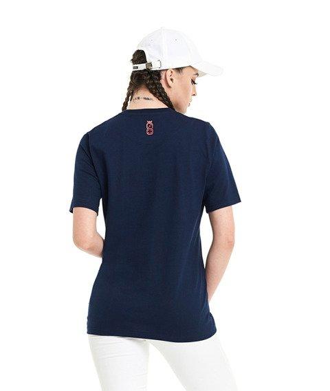Lucky Dice-LD Classic T-Shirt Damski Granatowy