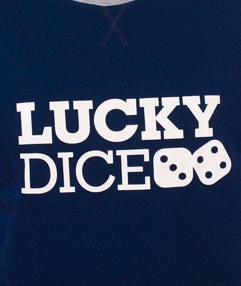 Lucky Dice-LD Seven Bluza Granatowa/Biała