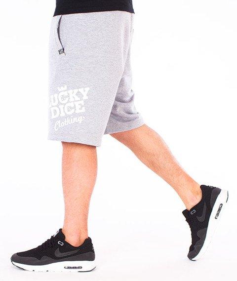 Lucky Dice-SHT Slant Krótkie Spodnie Szare