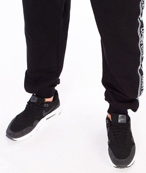 Lucky Dice-SP Tape LD Sweatpants Spodnie Dresowe Czarne