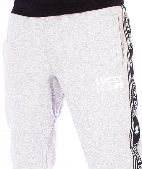 Lucky Dice-SP Tape LD Sweatpants Spodnie Dresowe Szare