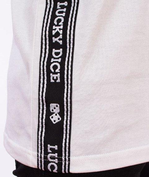 Lucky Dice-Tape LD T-shirt Biały