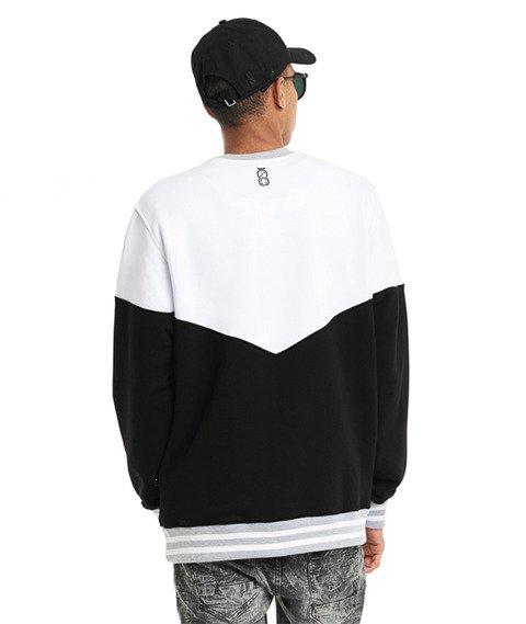 Lucky Dice-Triangle Bluza Biała/Czarna