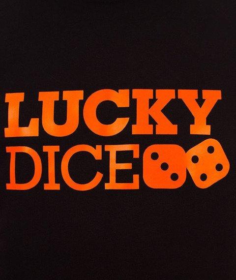 Lucky Dice-Urban Hoodie Bluza Kaptur Czarna/Camo