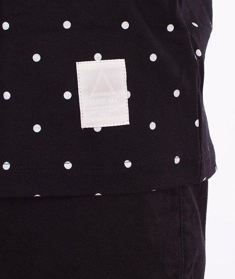 LuxxAll-Dots T-Shirt Czarny