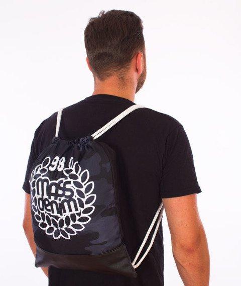 MASS-Base Gym Bag Worek Czarny/Camo
