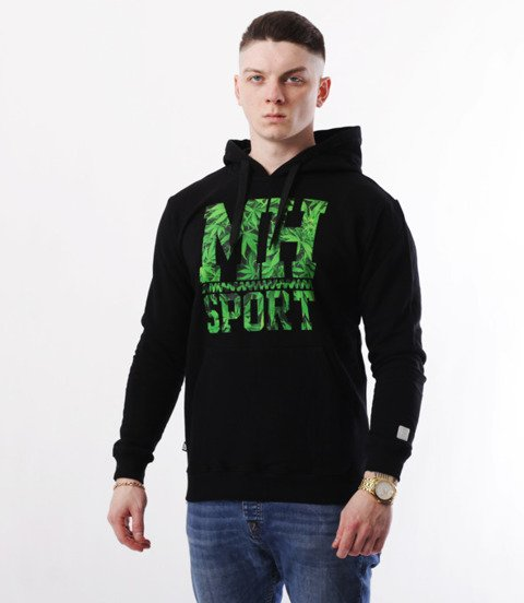 METODA -MH Sport Weed Bluza Kaptur czarna