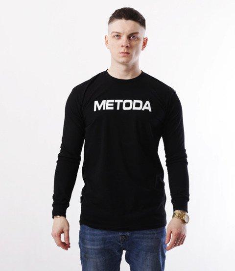 METODA -Name Longsleeve Czarny