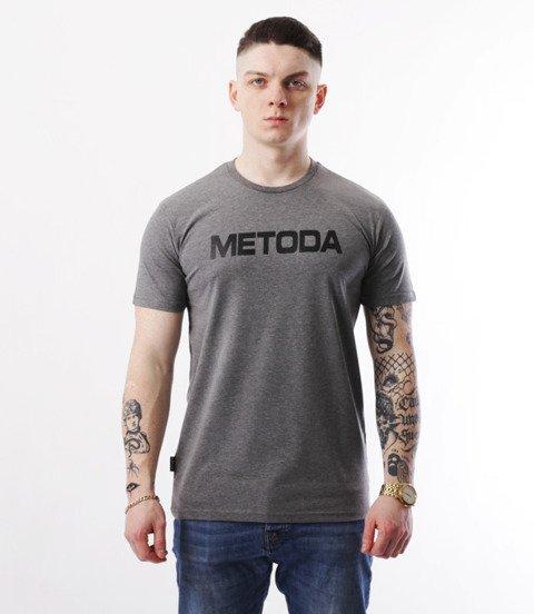 METODA -Name T-Shirt Szary