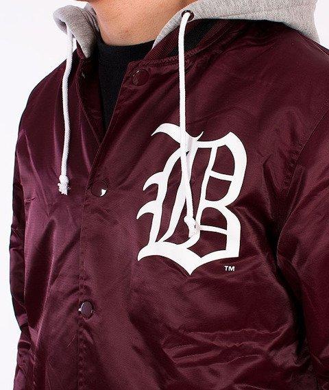 Majestic-Brooklyn Dodgers Jacket Burgundy