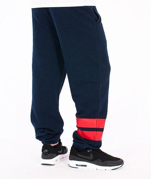 Majestic-Brooklyn Dodgers Vintage Cuffed Hem Jogger Pant Navy