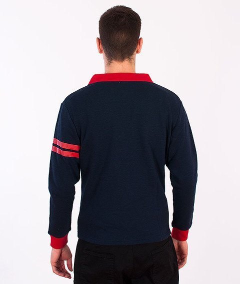 Majestic-Bston Red Socks Cardigan Navy/Red