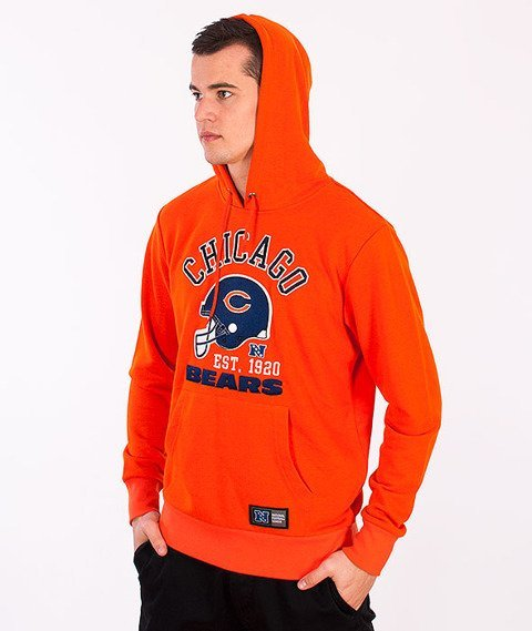 Majestic-Chicago Bears Hoodie Orange