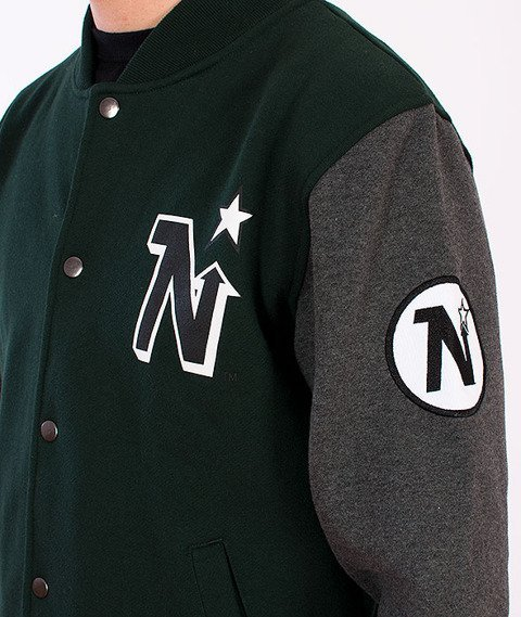 Majestic-Minnesotta North Stars Baseball Green/Grey