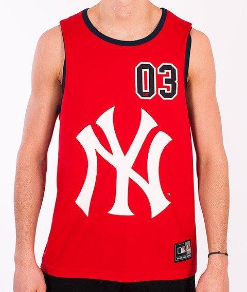 Majestic-New York Yankees Tank-Top Red