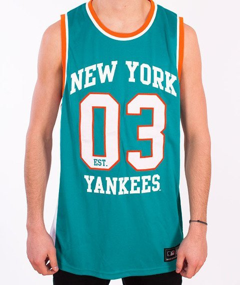 Majestic-New York Yankees Tank-Top Turquoise