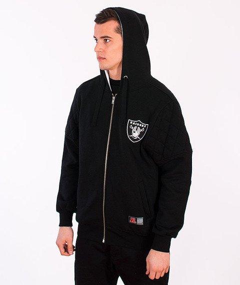 Majestic-Oakland Raiders Zip Hoodie Black