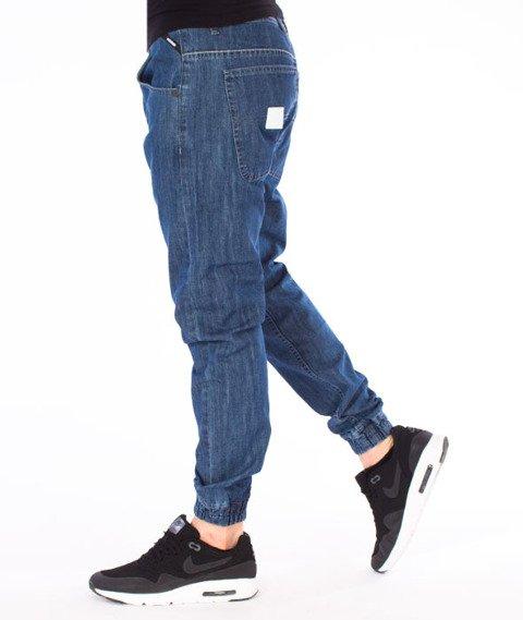Mass-Base Jogger Pants Sneaker Fit Spodnie Medium Blue